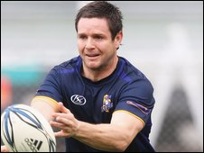 Fly-half Mike Delany