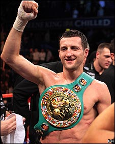"Froch: ""I'm a little bit dissatisfied but I can only beat what's in front of me"""