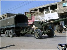Pakistan army weaponry in Tank