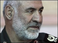 Gen Shooshtari was deputy commander of the ground force