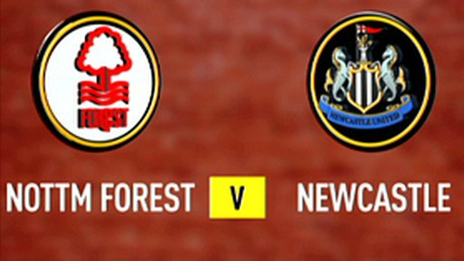 Nottm Forest 1-0 Newcastle