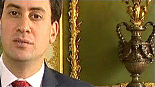 Energy Secretary Ed Miliband