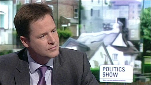 Nick Clegg on the Politics Show