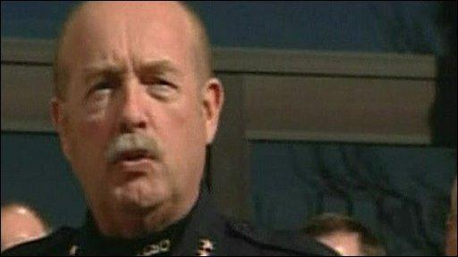 Larimer County Sheriff Jim Alderden