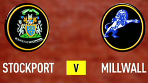 Stockport 0-4 Millwall