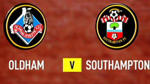 Oldham 1-3 Southampton