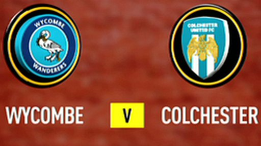 Wycombe 1-1 Colchester