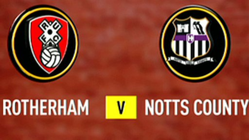 Rotherham 0-0 Notts County