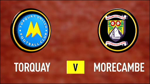 Torquay United v Morecambe