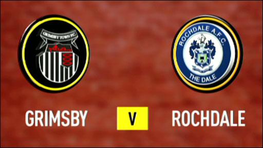 Grimsby v Rochdale