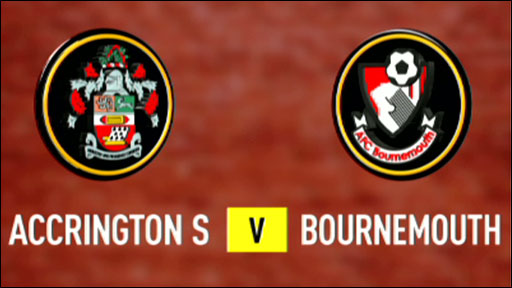 Accrington Stanley 0-1 Bournemouth