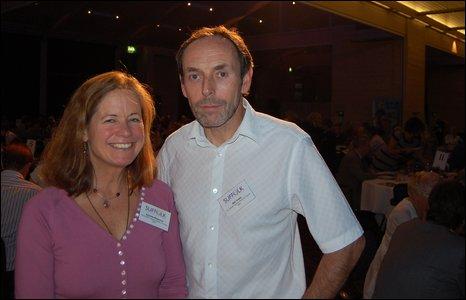 Amanda Richmond and Neil Taylor