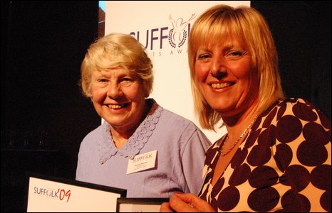 Penny Pearson and Jackie Milton