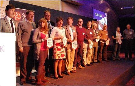 Clubmark winners 2009