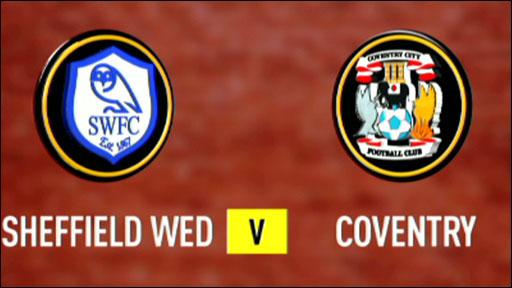 Sheffield Wednesday 2-0 Coventry