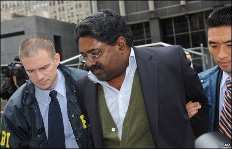 Raj Rajaratnam arrested