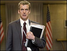 Peter Capaldi as Malcolm Tucker in In The Loop