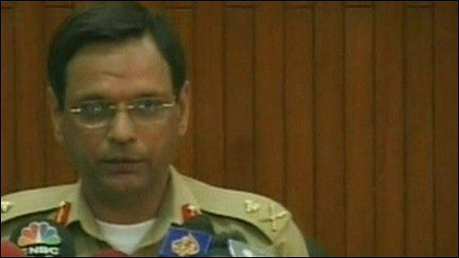 Pakistani army spokesman