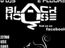 Black House logo