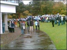 Stirling University Protest