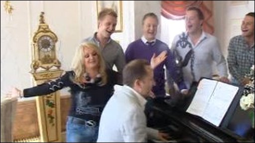 Bonnie Tyler with Only Men Aloud!