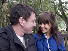 Tony and Maria (Samia Smith) in Coronation Street