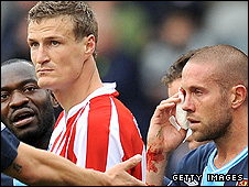Robert Huth and Matthew Upson
