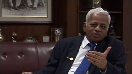 B Muthuraman, vice-chairman of Tata Steel