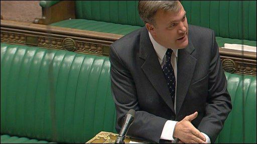 The Children's Secretary, Ed Balls,