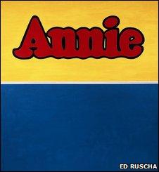 Annie by Ed Ruscha