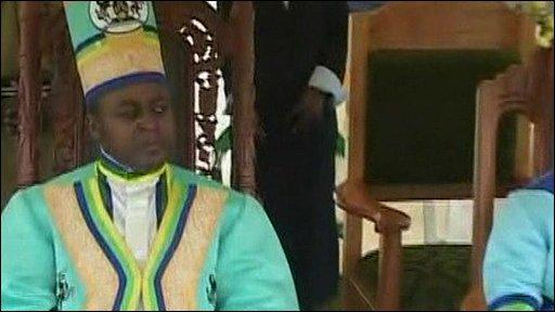 Charles Wesley Mumbere, king of Rwenzururu