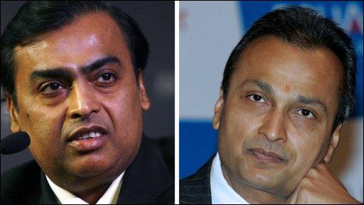 Mukesh & Anil Ambani