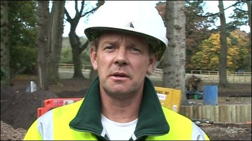 Builder Stuart Abraham