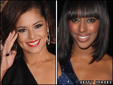 Cheryl Cole and Alexandra Burke