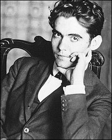 Archive picture of the young Federico Garcia Lorca