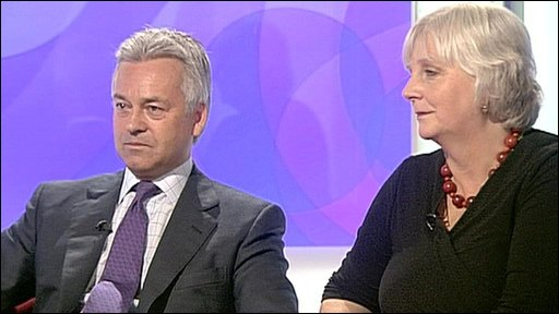 Alan Duncan and Juliet Lyon