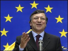Jose Manuel Barroso, file pic from October 2009