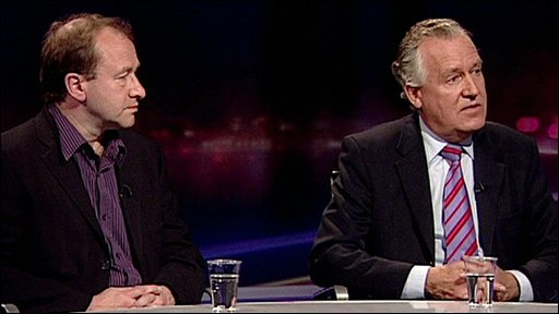 Ric Bailey and Peter Hain