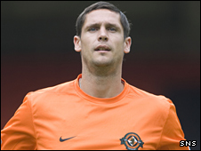 Dundee United defender Lee Wilkie
