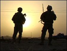 US soldiers in Kirkuk