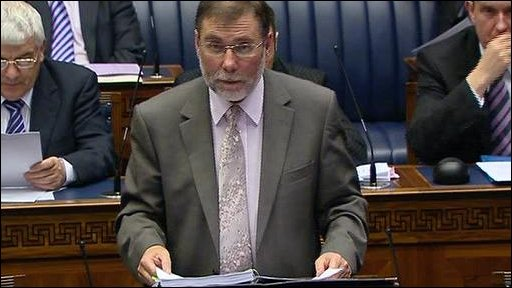 Culture Minister Nelson McCausland
