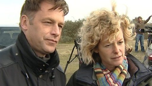 Chris Packham and Kate Humble