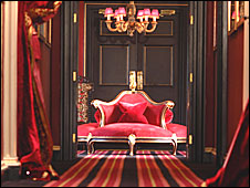 Prestonfield Hotel reception