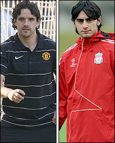 Owen Hargreaves and Alberto Aquilani