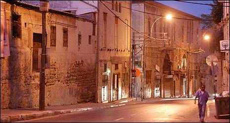 Old Jaffa buildings