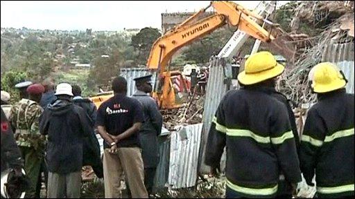 Kenya rescuers