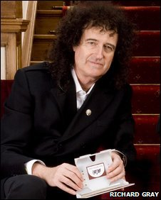 Brian May - photo by Richard Gray