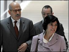 Mohammed El Baradei in Vienna (20 October 2009)