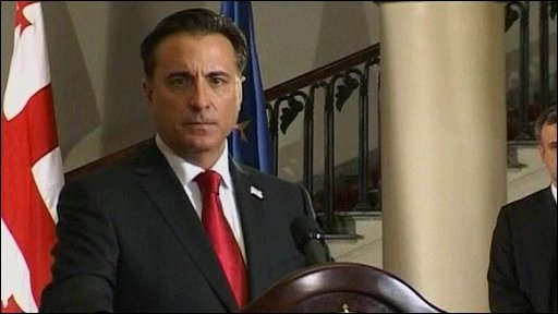 Andy Garcia as Mikheil Saakashvili