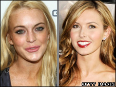 Lindsay Lohan and Audrina Patridge